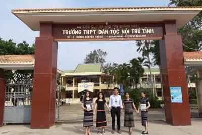 Trường THPT Dân tộc Nội trú tỉnh Quảng Ngãi- Dấu ấn 30 năm
